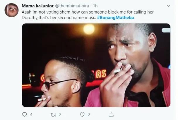 #BonangMatheba