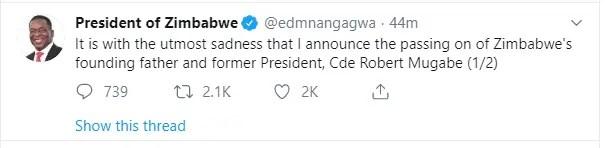 ED Tweet