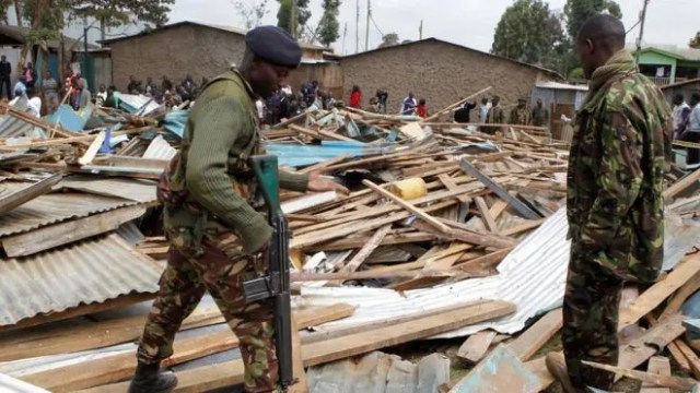 Kenya school collapse