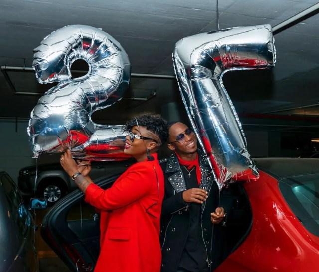 Khuli Chana and DJ Lamiez Holworthy