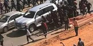 Zambians March to SA Embassy