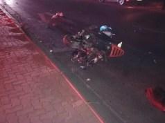 Motorcyclist dies