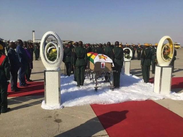 Mugabe Back Home