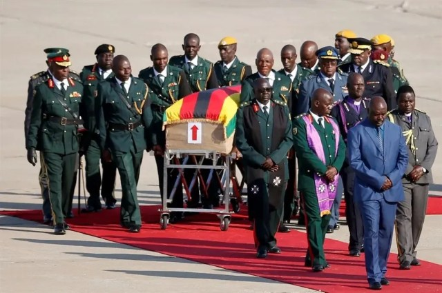 Mugabe Back Home