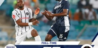 Orlando Pirates lost 4-3 to Bidvest Wits