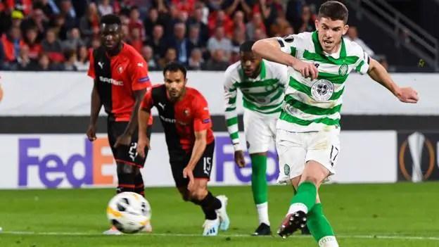 Rennes 1-1 Celtic