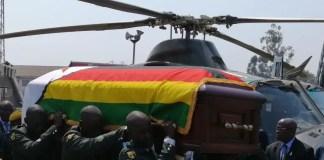 Robert Mugabe's body