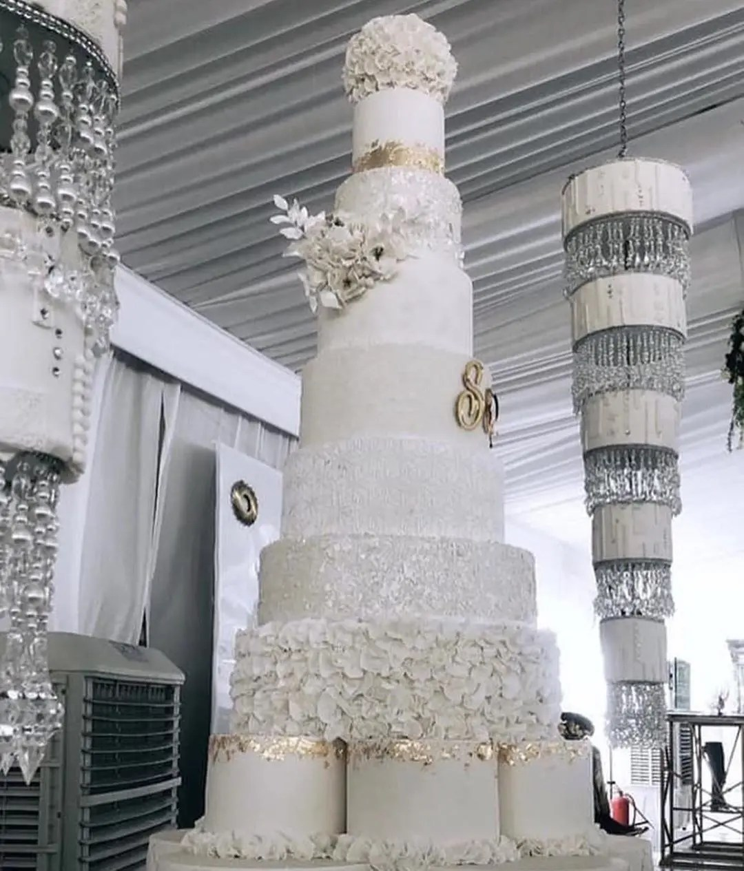 Somizi Wedding Cake
