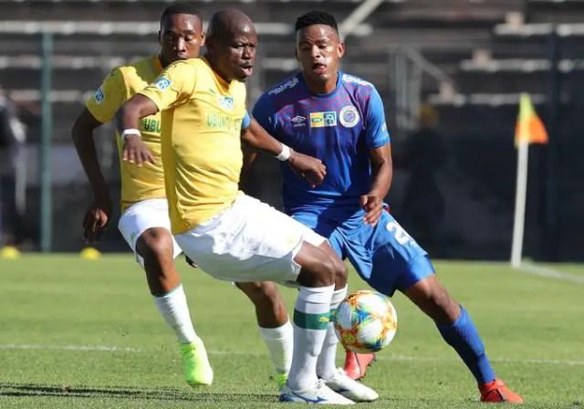 SuperSport United 1-1 Mamelodi Sundowns