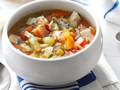 Turkey and vegetable stew
