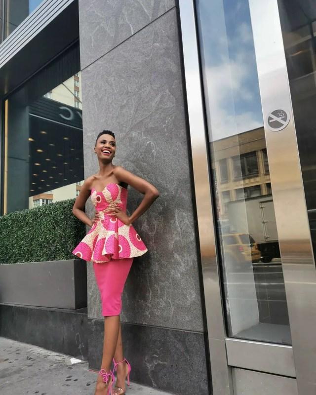 Zozibini Tunzi in New York