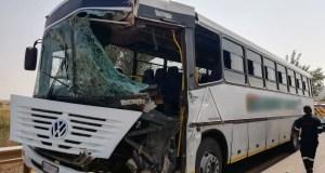 bus vs bus crash