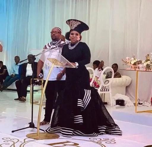 Baby Cele wedding
