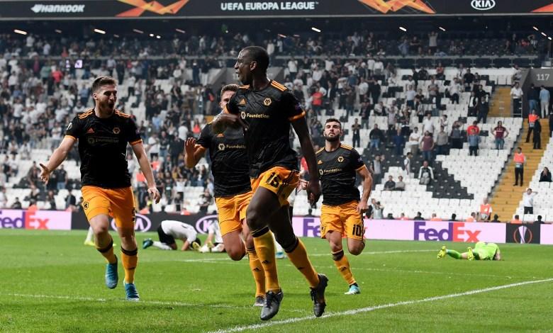 Besiktas 0- 1 Wolves