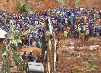 Cameroon landslide