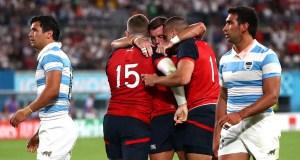 England 39 - 10 Argentina