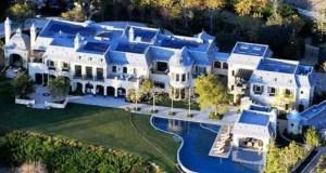 Mugabe Blue Roof Mansion