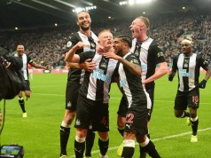 Newcastle United 1 - 0 Manchester United