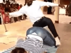 Pastor Teaches Church members the Best Positions