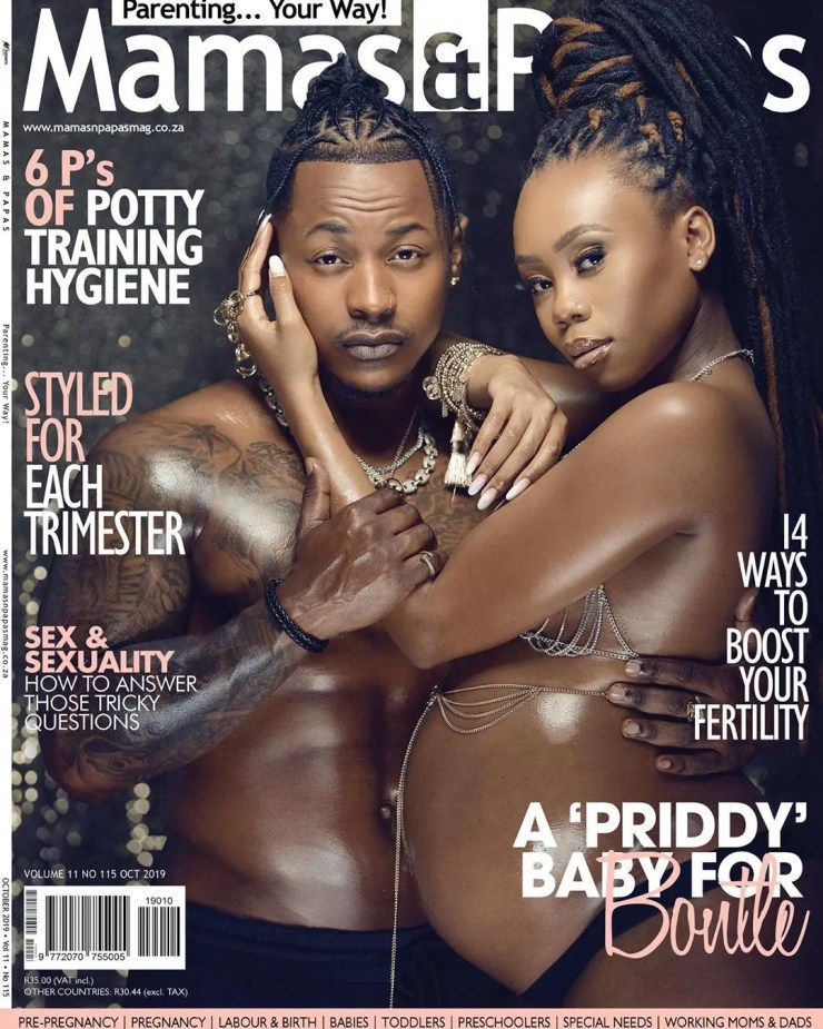 PriddyUgly and Bontle go topless
