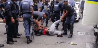 Protests turn violent in Cape Town