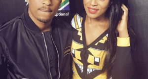 Jessica Nkosi and TK Dlamini