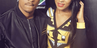 Jessica Nkosi and TK Dlamini