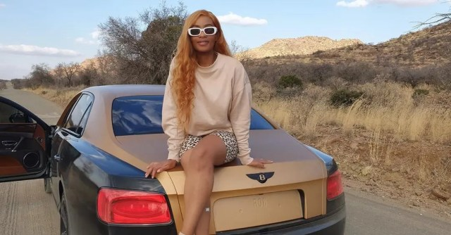 Thobeka Majozi on Cassper Nyovest's Bentley