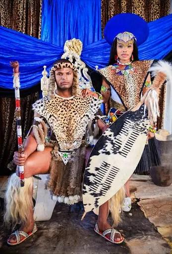 Isibaya-Zweli-and-Sihle-traditional-wedding