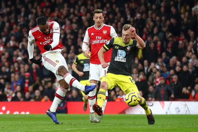 Arsenal 2 - 2 Southampton
