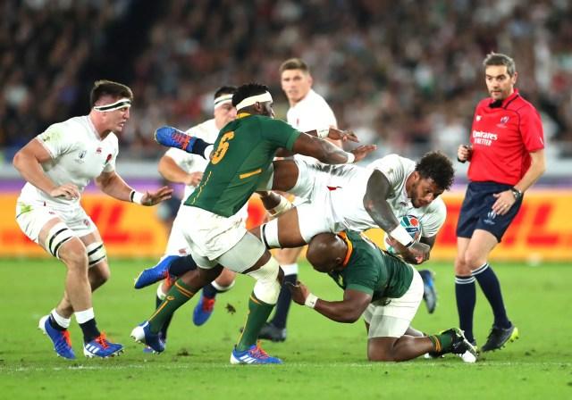 England 12-32 South Africa