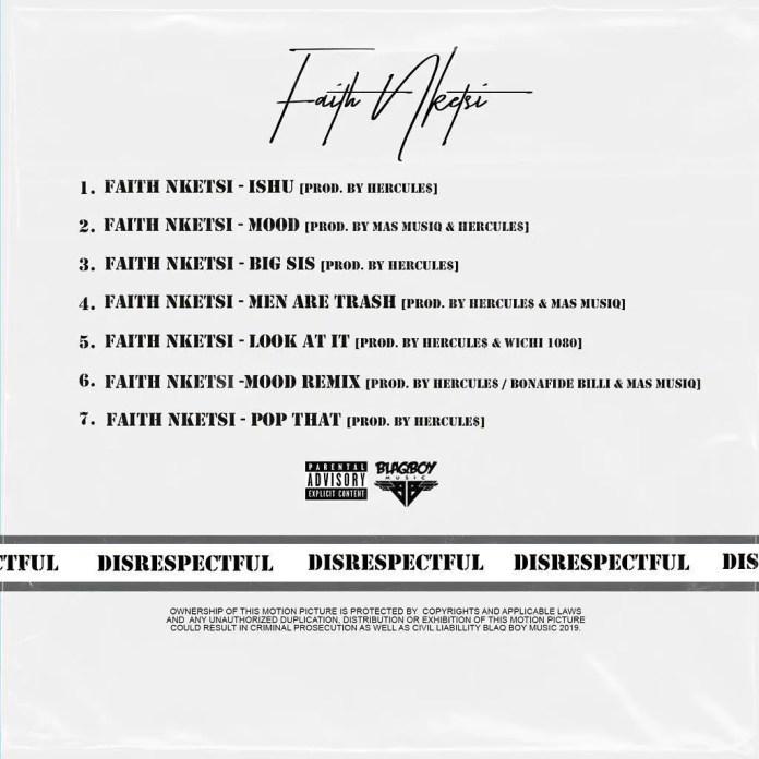 Faith Nketsi Tracklist