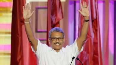 Photo of Gotabaya Rajapaksa elected Sri Lankan president