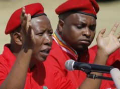Julius Malema and Floyd Shivambu