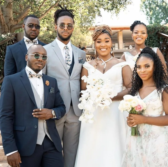 More Pictures Of Lady Zamar S Secret Wedding With Her New Bae News365 Co Za