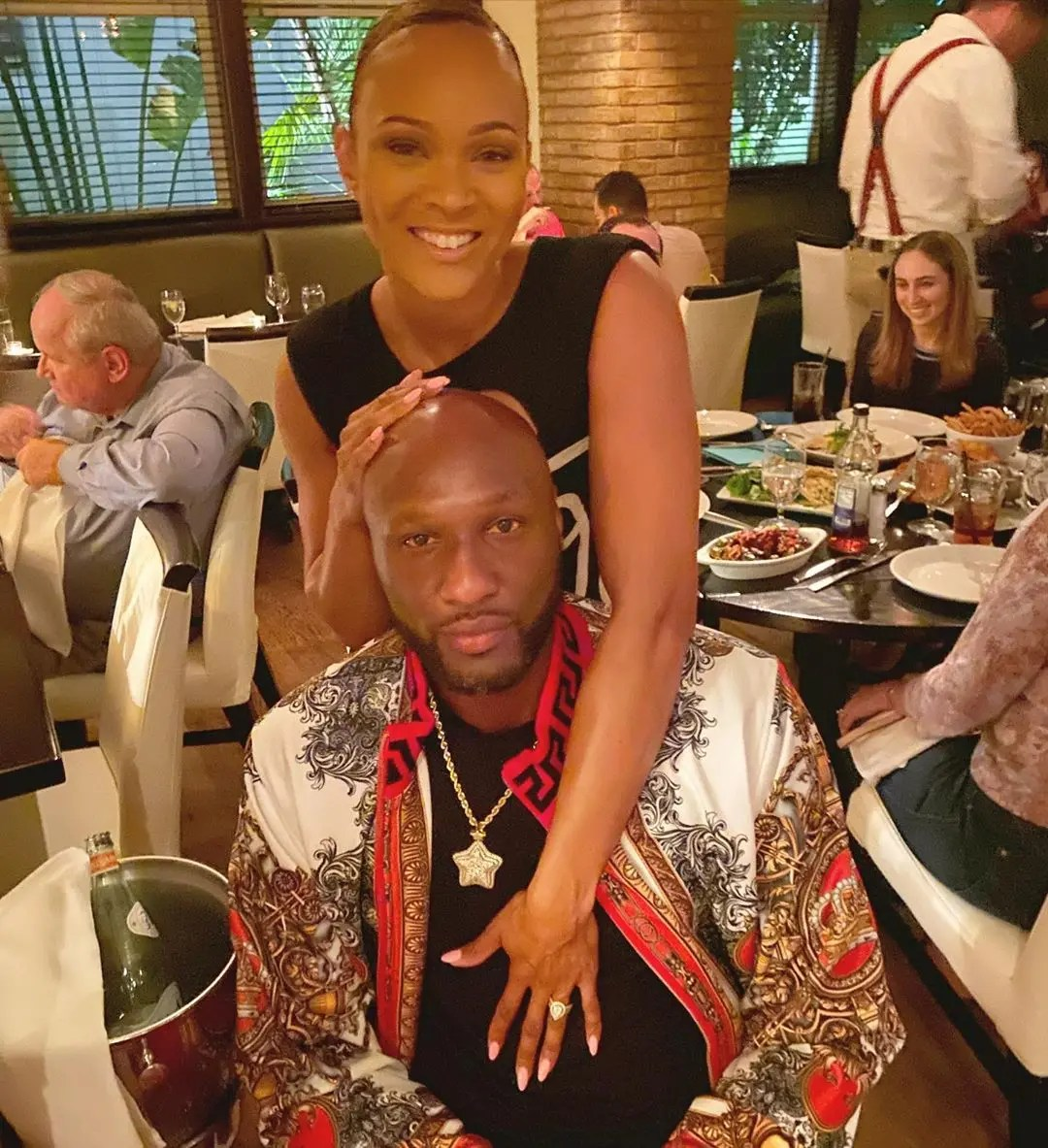 Image result for Lamar Is Engaged To Girlfriend Sabrina Parr. Its Very Very Romantic!