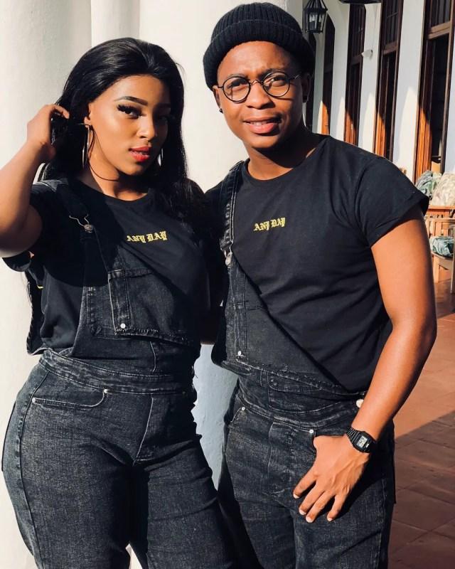 Lunga Mofokeng and Lorraine Moropa
