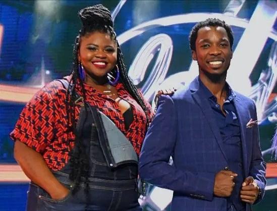 Luyolo Yiba and Sneziey Msomi