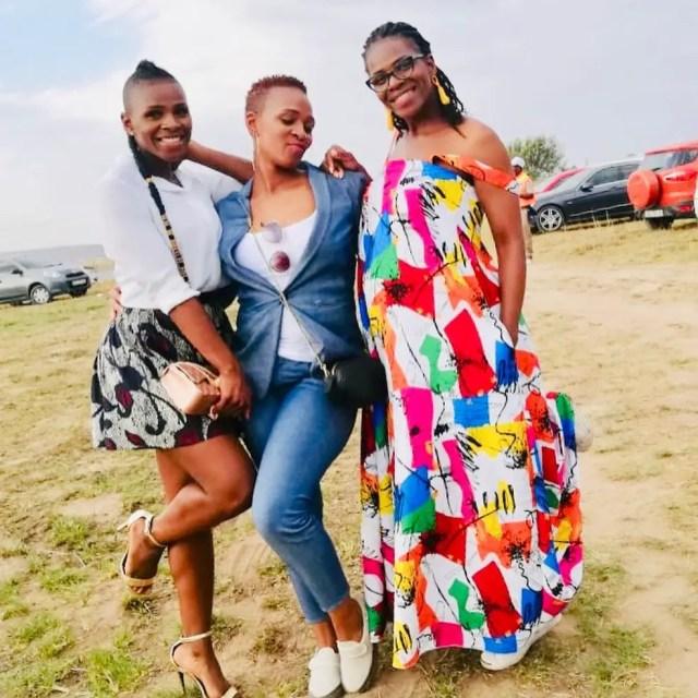 Nokubonga Khuzwayo and friends