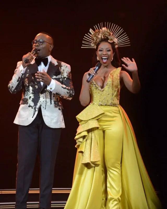 Pearl Modiadie and Khaya Mthethwa