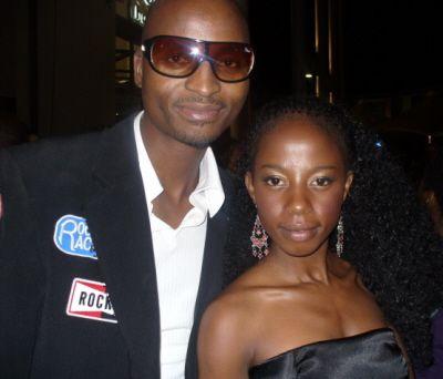 Prosper Mkwaiwa and Kelly Khumalo