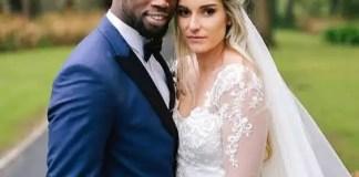 Rachel Kolisi and Siya Kolisi