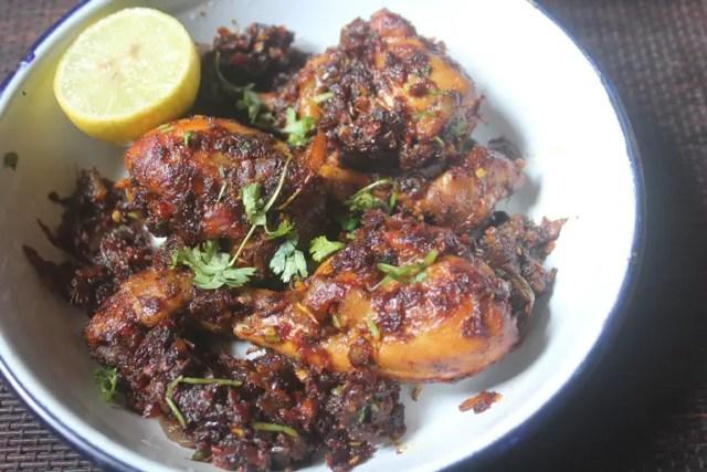 Roast chicken masala