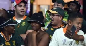 Springboks fans