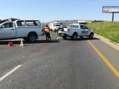 Two injured in N14 crash