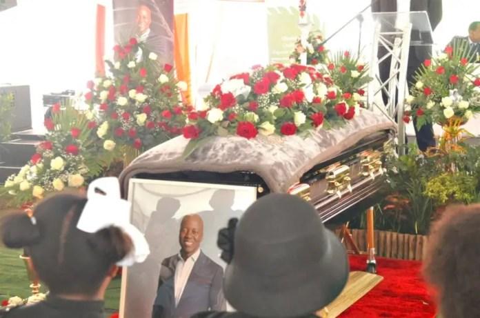 Xolani Gwala's Funeral service