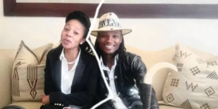Zamokwakhe Bhaka Nzama and Kelly Khumalo