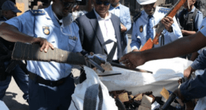 illegal firearms destroyed