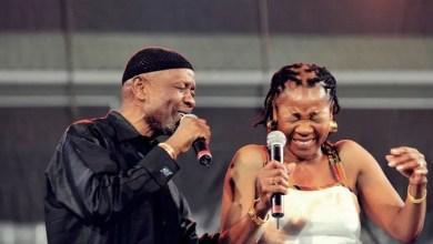 Caiphus Semenya and Letta Mbulu