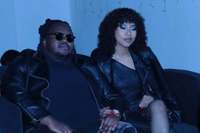 Heavy K and his wife